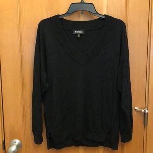 Oversized cozy Express Sweater - Black